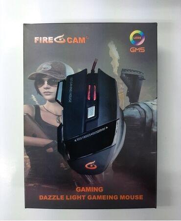 Компьютеры, ноутбуки и планшеты - Бишкек: Игровая мышка fire cam gm5gamer fire cam gm5 mouse7 кнопок usb 3.0 /