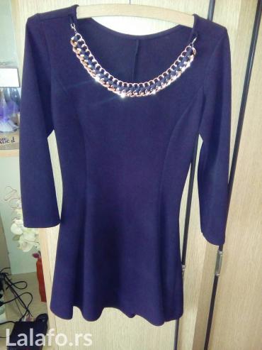 Mini haljinica,s/m veličina sa zlatnom ogrlicom koja može da se skine. - Sombor