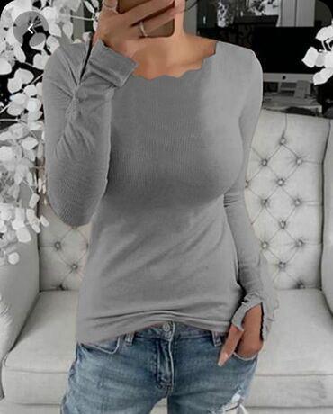️️️ prelepe nove trikotazne bluze od kasmiraCena 1450 din2 kom 2500