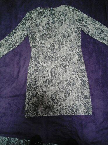 Boja bele kafe - Srbija: Potpuno Nova haljina velicina xl,zmijski print, boja bela kafa