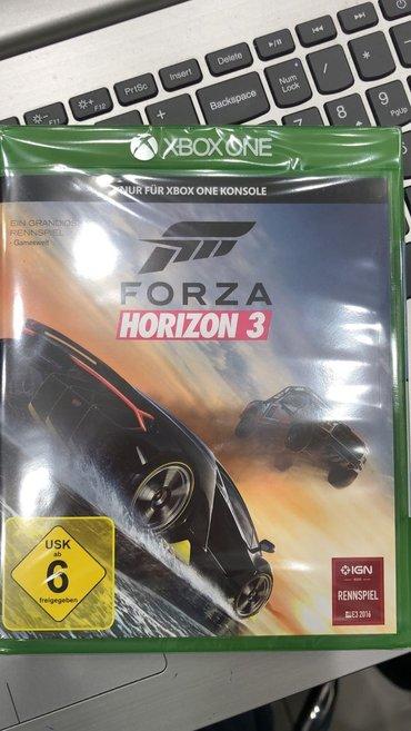 Bakı şəhərində Xbox one forza horizon 3 oyunu satılır