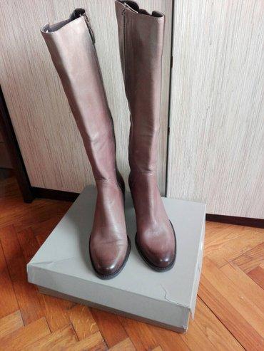 Nove kozne italijanske cizme. Cizme su kozne, italijanske , - Pancevo