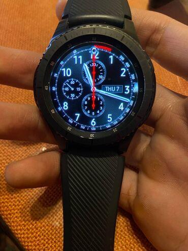 samsung gear s3 в Кыргызстан: Samsung Gear S3 frontier смарт часы. Пользовались недолго,в идеальном
