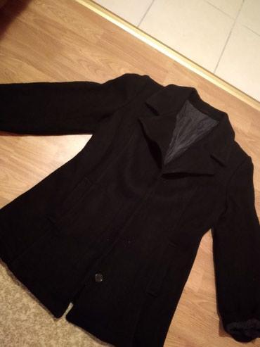 Zimski crni kaput vel..XL jako sladak kraci zimski kaput KO - Pancevo