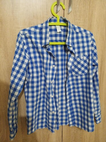 детская клетчатая рубашка в Кыргызстан: Рубашка для юноша размер 12/13 лет!