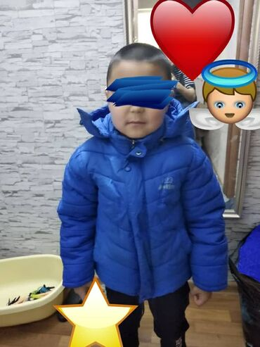 Зимняя куртка на мальсика 5-6лет