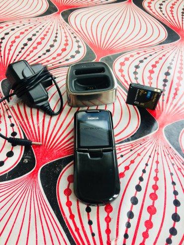 Bakı şəhərində Nokia 8800 az muddet iwlenib tecili satilir