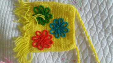 Продаю детские сумочки ручной вязки в Бишкек