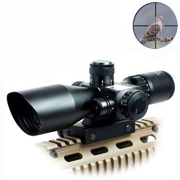 Optika sa laserom 2,5-10x40 - Sniper Rifle ScopeKončanica svetleća u