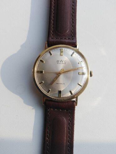 Золотистые Мужские Наручные часы Swiss Eagle