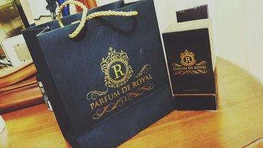 Bakı şəhərində Parfum de royal  orijinal hediyye verilib maqazinde 450azn orgene