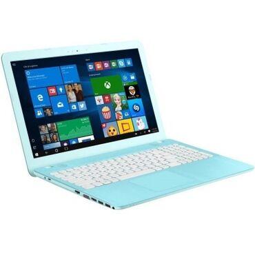 "asus notebook baku - Azərbaycan: ASUS 15X541UAX541UA-GQ2286D90NB0CF5-M.6""3H-Aqua BlueHD USLIMi5-7"