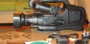 Videokameralar Xaçmazda: JVC GY-HM70 ela veziyyetde. Hec bir problemi yoxdur. Ustada olmayib