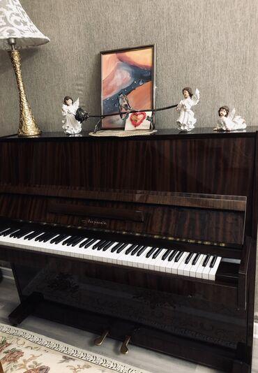 Пианино, фортепиано - Кыргызстан: Фортепиано «Лирика». 2 педали. Состояние: отличное