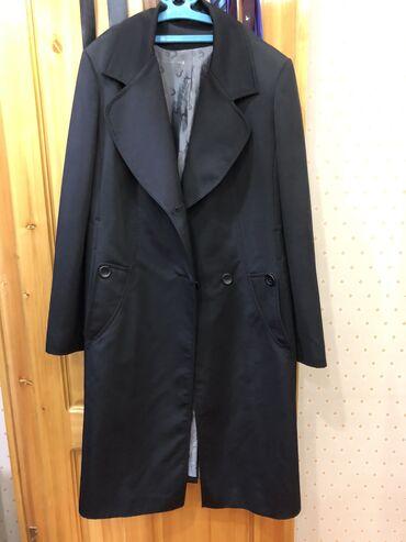 Продаю черный плащ 50 размер