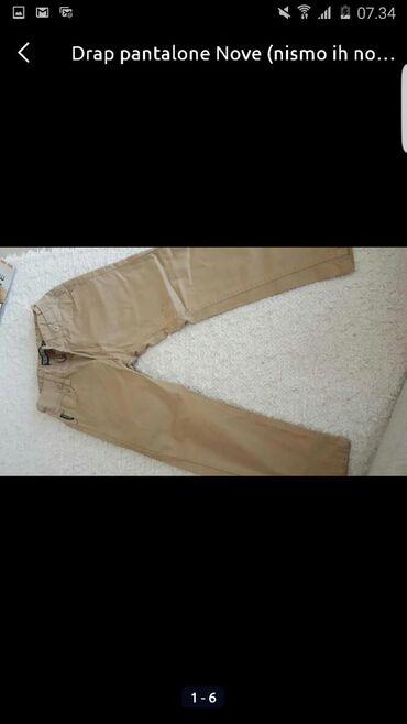 Dečije Farmerke i Pantalone | Pozarevac: Nove pantalone za decaka Nismo ih nosili nijednom Vel 4-5