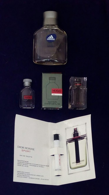 kenzo-духи в Кыргызстан: Муж.парфюм Dior и Kenzo - новые, Adidas б.у