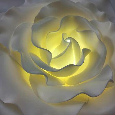 Светильник прикроватный в виде розы. Ручная работа можем сделать для в