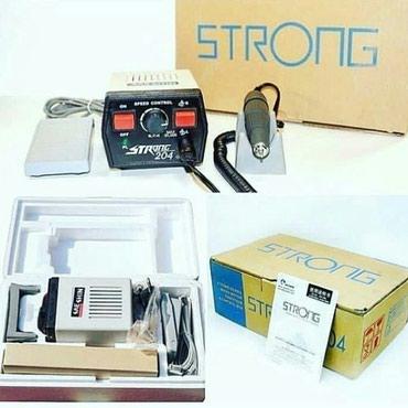 Strong204...mikromotor...diştexnikləri ve manikur etmək в Bakı
