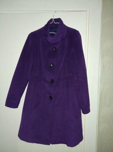 Женские пальто в Кыргызстан: Пальто демисезонное.Отдаю дёшево в связи с переездом.Размер примерно