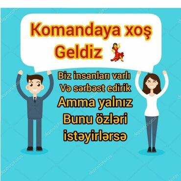 Xaricdə iş Azərbaycanda: Onlayn biznes sistemidir.İş evden telefonla idarə olunur.Təcrübə vacib