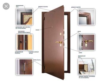 Продается просто дверь без короба и рамки... в Каниш-Кия