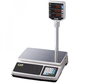Весы PR-30PВесы торговые CAS PR-30P — качественные настольные весы с