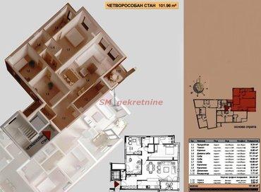 Crveni Krst,stan 102m2 sa terasom, nov , vrhunskog kvaliteta gradnje, - Beograd