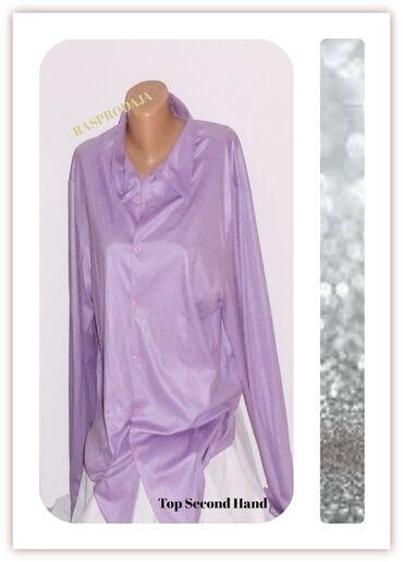 3.5.2. Lila elegantna XXL košulja-25. 9✼Lila svilenkasta košulja