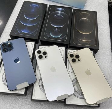 iphone qablari - Azərbaycan: Yeni iPhone 12 Pro Max 256 GB Qara