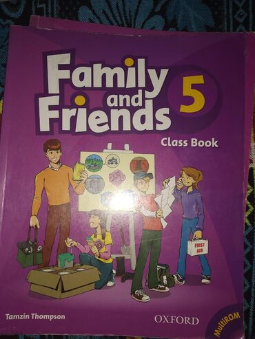 wexler book в Кыргызстан: Family and Friends 5( Class Book(200сом) Work book(200 сом)