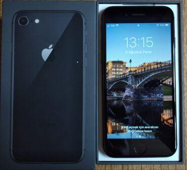 iphone 6 islenmis - Azərbaycan: Iphone 8 64 gb yaddaş karopka adapter var kredit deyil heçbir problemi
