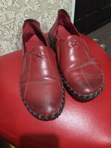 обувь в Кыргызстан: Кожаные, мягкие, очень удобные. Ноги не воняют. В них ноги просто