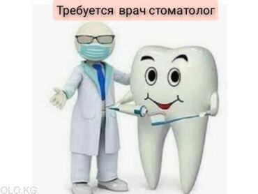 Другие медицинские товары - Кыргызстан: Срочно! Требуется опытный врач стоматолог на полставку! Сдаю кресло на