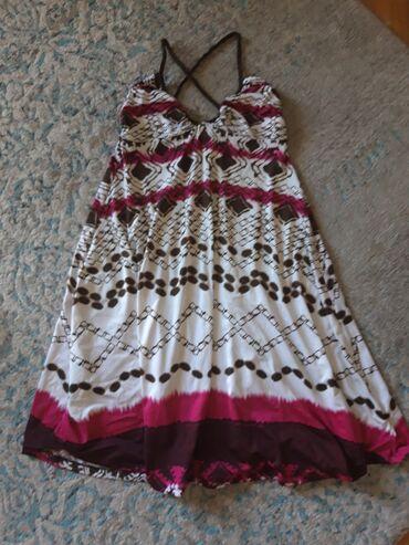 Lagana letnja haljina Bershka, vel. S, odgovara i M