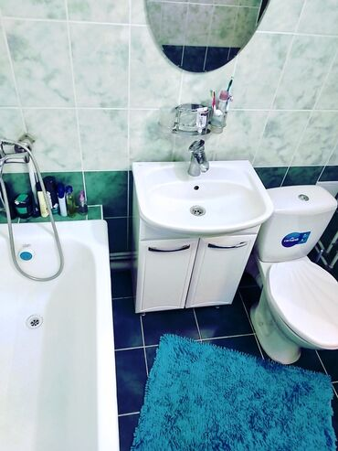 дома-с-последующим-выкупом в Кыргызстан: Продается квартира: 2 комнаты, 46 кв. м