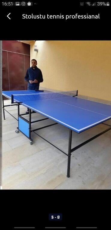 İdman və istirahət Azərbaycanda: Profesianal stolustu tennis