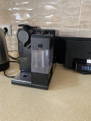 капсульная кофемашина nespresso с капучинатором в Кыргызстан: Состояние очень хорошее пользовались мало капсульная Кофемашина Ne