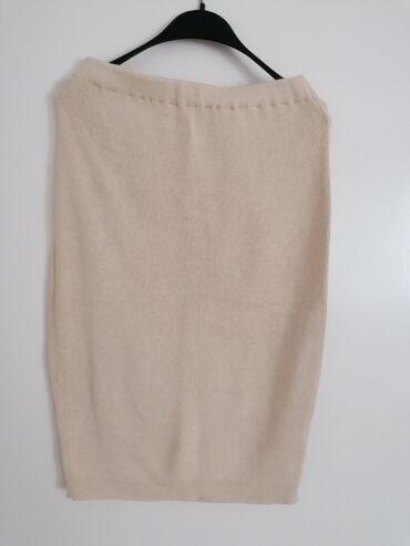Suknje - Srbija: Zimska trikotazna suknja M velicina