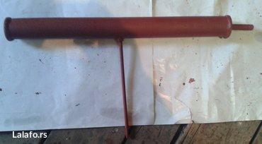 Metalna prskalica, dužine 580mm fi 50mm, sa 5-mlaznica,lula za - Nova Pazova