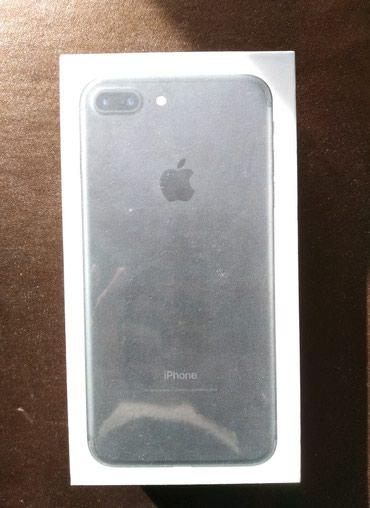 Продаю новый запечатанный iphone 7+ 128 gb черный в Бишкек