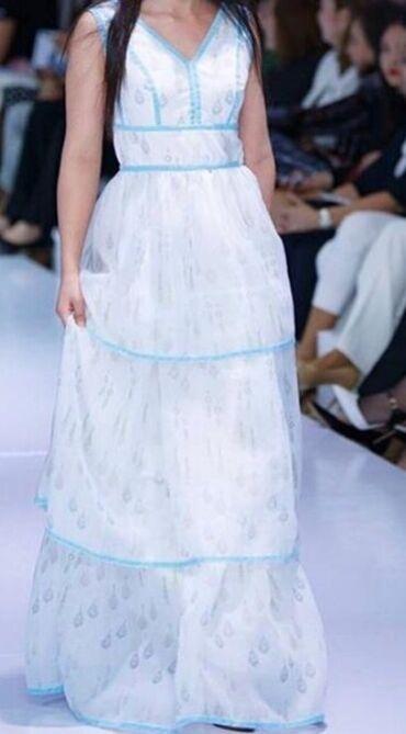 джинсовое платье халат в Кыргызстан: Платье нарядное