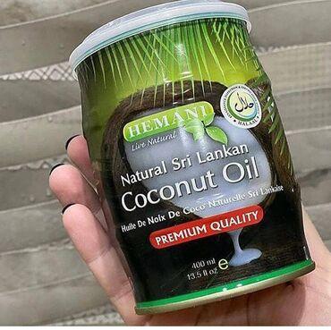 - Azərbaycan: Hemani 400ml100% orginal Cocos yağı- bütün dünyada istifadə olunan