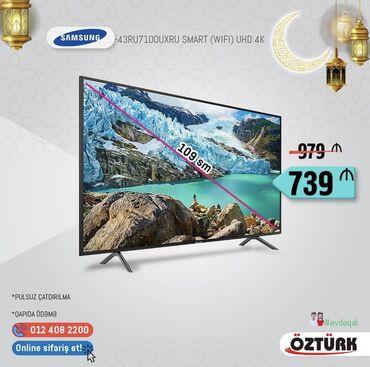 Samsung tv 43RU7100 4K (2019model)