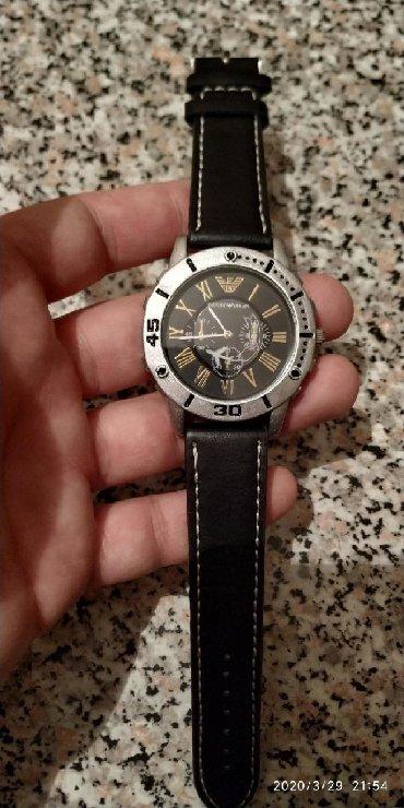 Серые Унисекс Наручные часы Armani