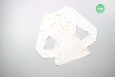 Жіноча блуза з коміром, р. L    Довжина: 58 см Ширина плечей: 35 см Ру
