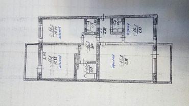 Продаю 3-х комнатную квартиру в г. Каинды 105 серия в Бишкек