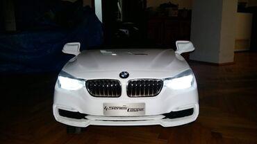 Na akumulator - Srbija: Auto BMW deciji iz beca na akumulator koriscen mesec dana
