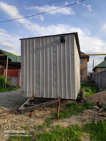 офис на колесах продам в Кыргызстан: Продаю вагончик на колесах. Можно сделать магазин на колесах. Можно