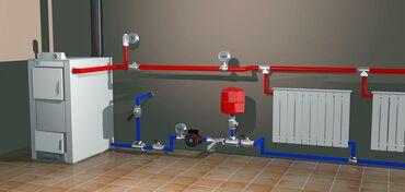 Отопление и водоснабжение дома,газовое отопление,жидкостное, твердое (